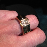 Great setting for an emerald cut made 20 years ago
