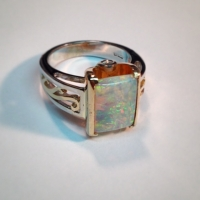 New solid opal diamond ring you know you gotta have it opal amazing ring