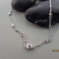 White Gold and Diamond Custom Chain East Towne Jewelers