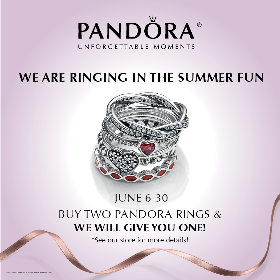 Pandora Jewelry Coupons Printable: Ringing In The Summer Fun