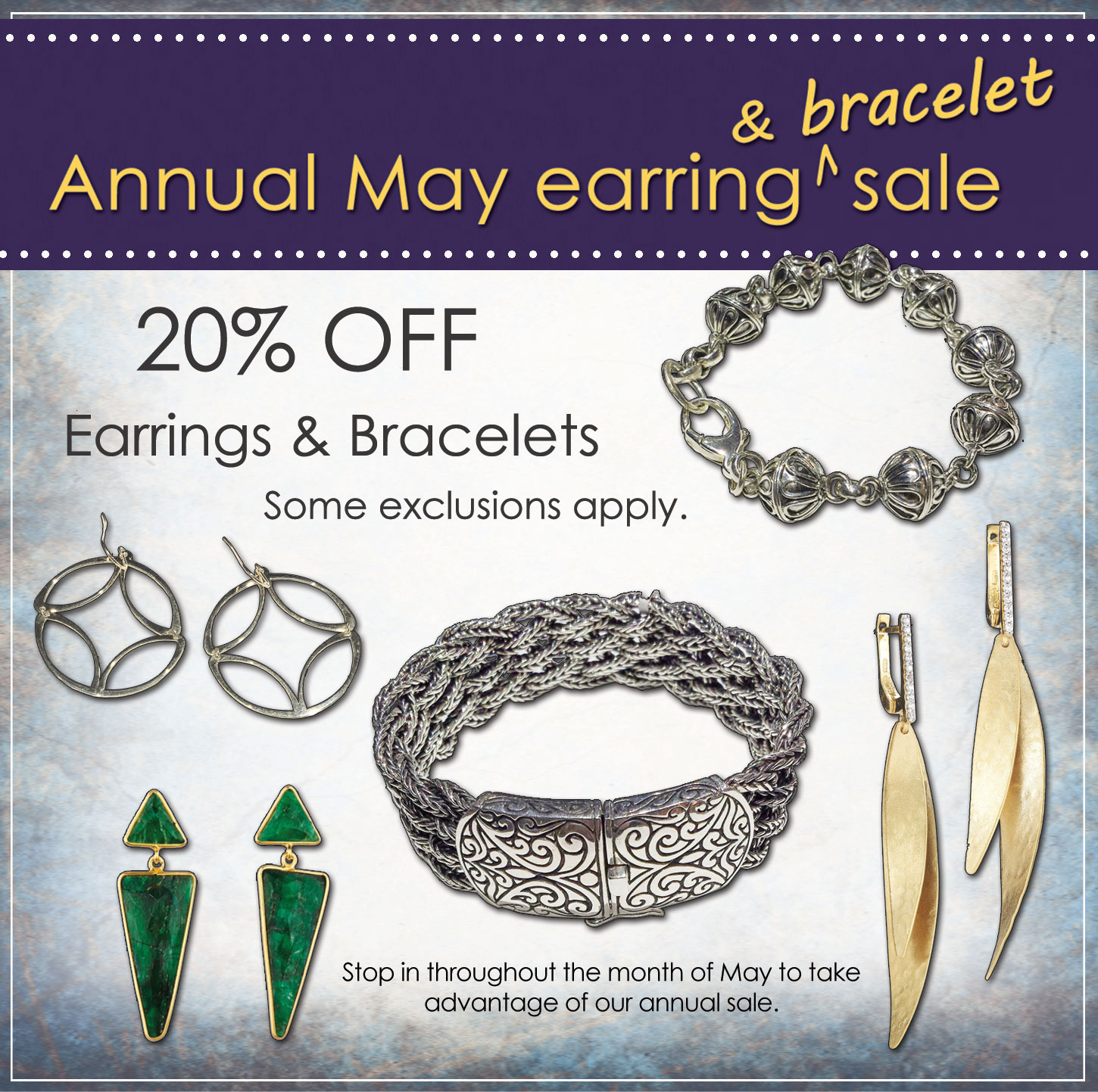 Annual Earring & Bracelet Sale | East Towne Jewelers | Mequon, WI East Towne Square