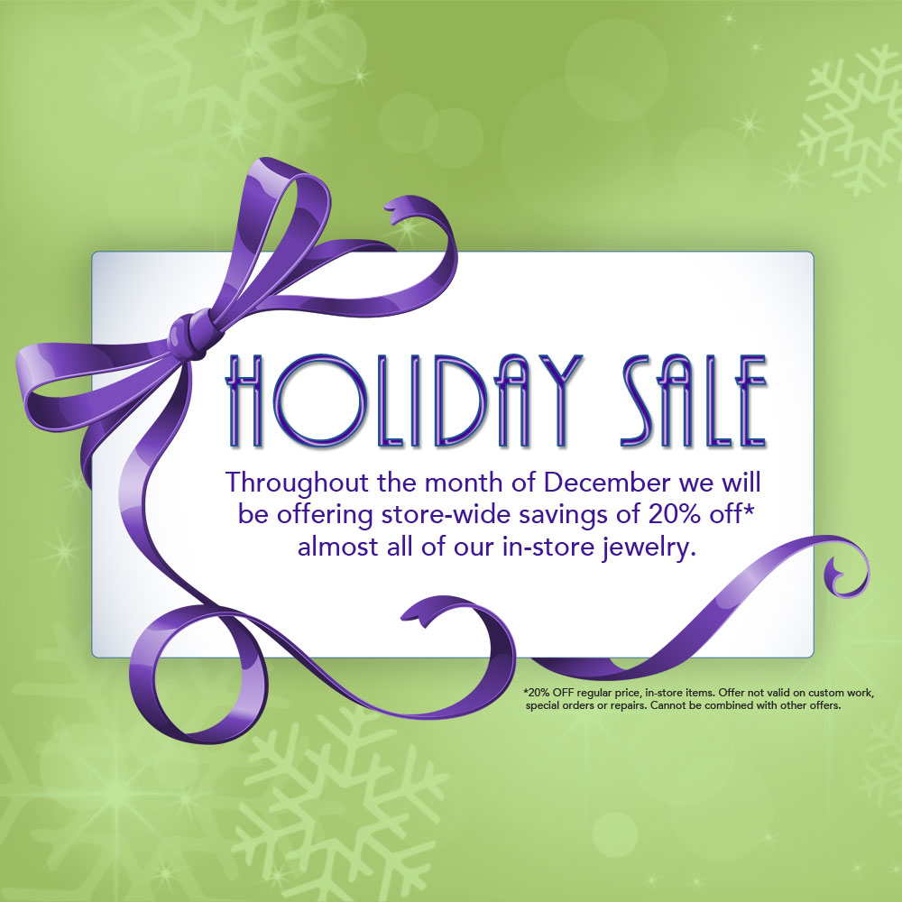 2017 Holiday Sale | East Towne Jewelers | Mequon, WI