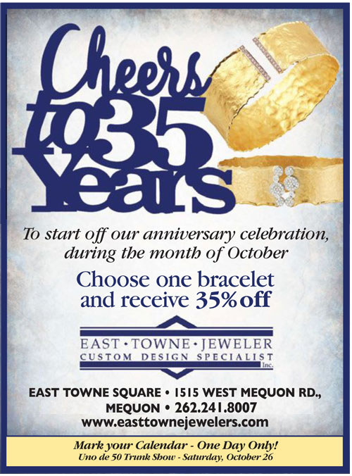 35 Years Jewelry Retail Mequon WI