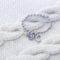 Alphabet bracelet still life | East Towne Jewelers | Mequon, WI