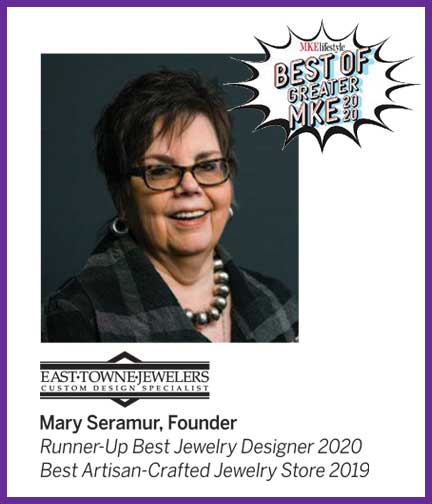 Best of Greater Milwaukee Best Jewelry Designer 2020 | East Towne Jewelers