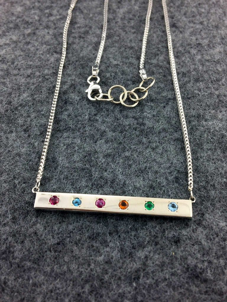 Custom Designed Mothers Necklace East Towne Jewelers