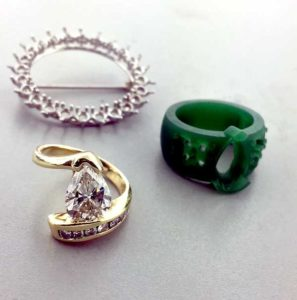 Custom Diamond Ring Made with Stones from Old Mounting East Towne Jewelers Mequon WI