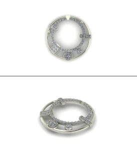 Custom Pendant Design Concept | East Towne Jewelers
