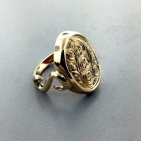 Dads Cufflinks Created New Ring East Towne Jewelers Mequon WI