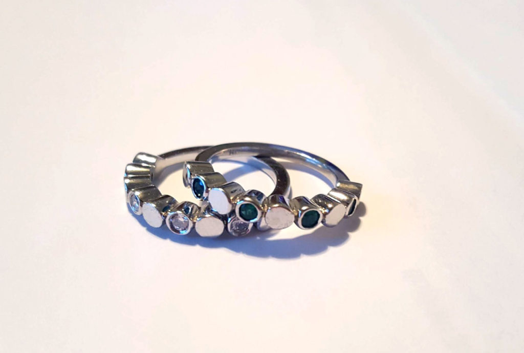Diamond and Emerald Rings Repurposed | East Towne Jewelers