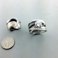 Diamond from old ring used to make new ring East Towne Jewelers Mequon WI