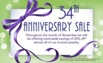 East Towne Jewelers Anniversary Sale | Mequon WI