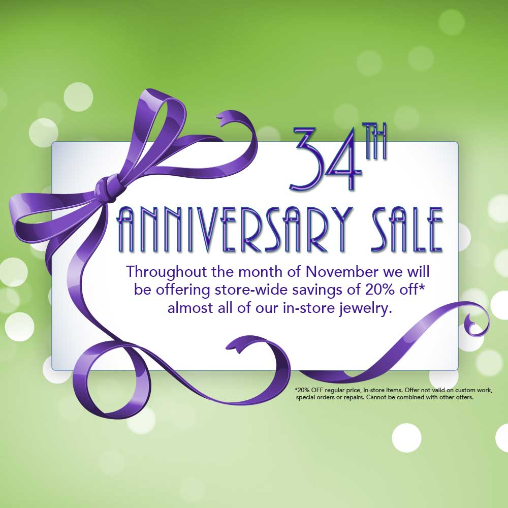 East Towne Jewelers Anniversary Sale