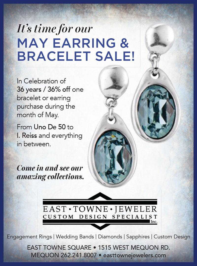 May 2021 Earring & Bracelet Sale