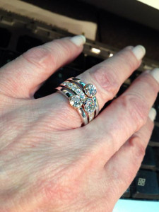 Repurposed Diamond Ring