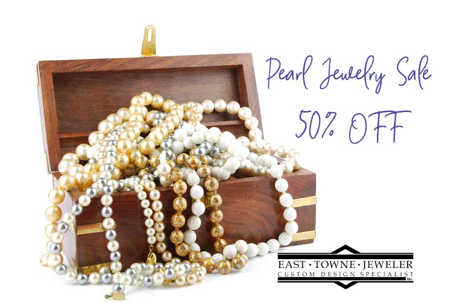 June Pearl Sale 2019 East Towne Jewelers Mequon WI