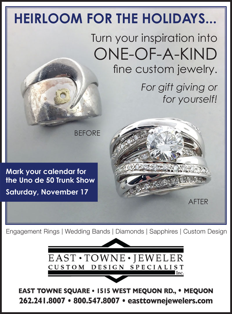Heirloom Jewelry Repurposing and Restoration | East Towne Jewelers | Mequon WI