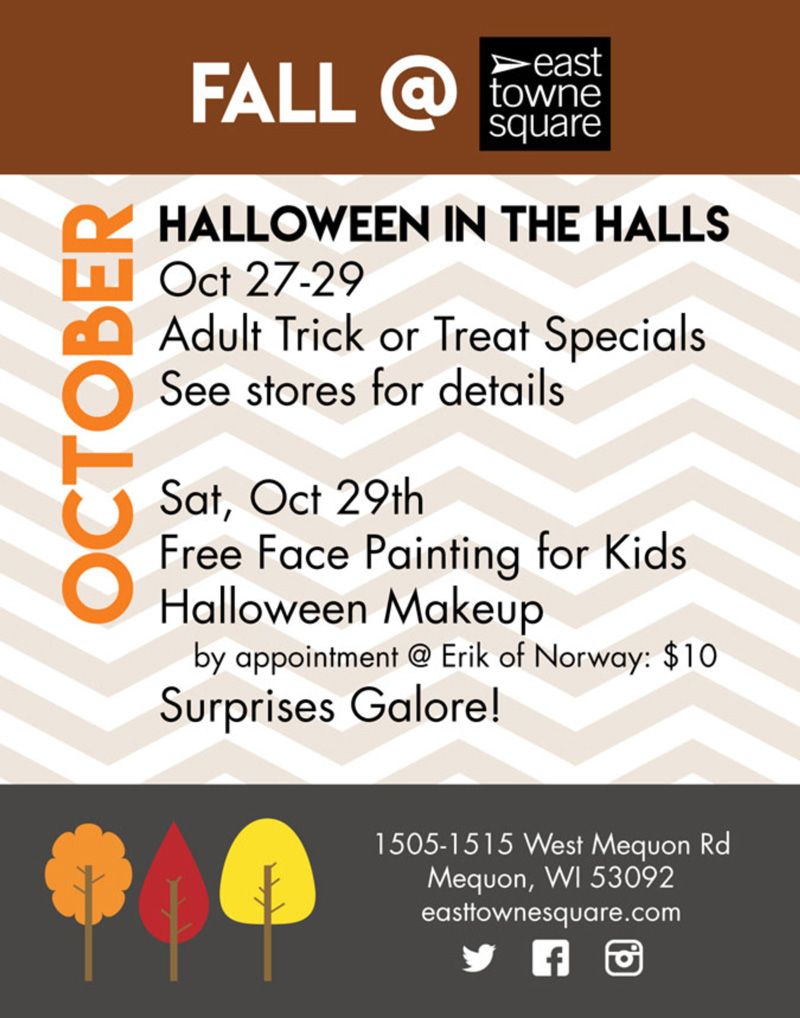 october-2016-east-towne-square-events - East Towne Jewelers | Mequon, WI