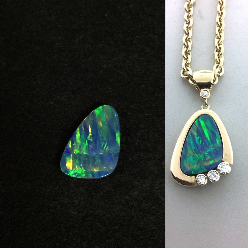 Opal Pendant East Towne Jewelers