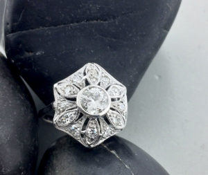 Ring crushed by a car repaired East Towne Jewelers | Mequon WI