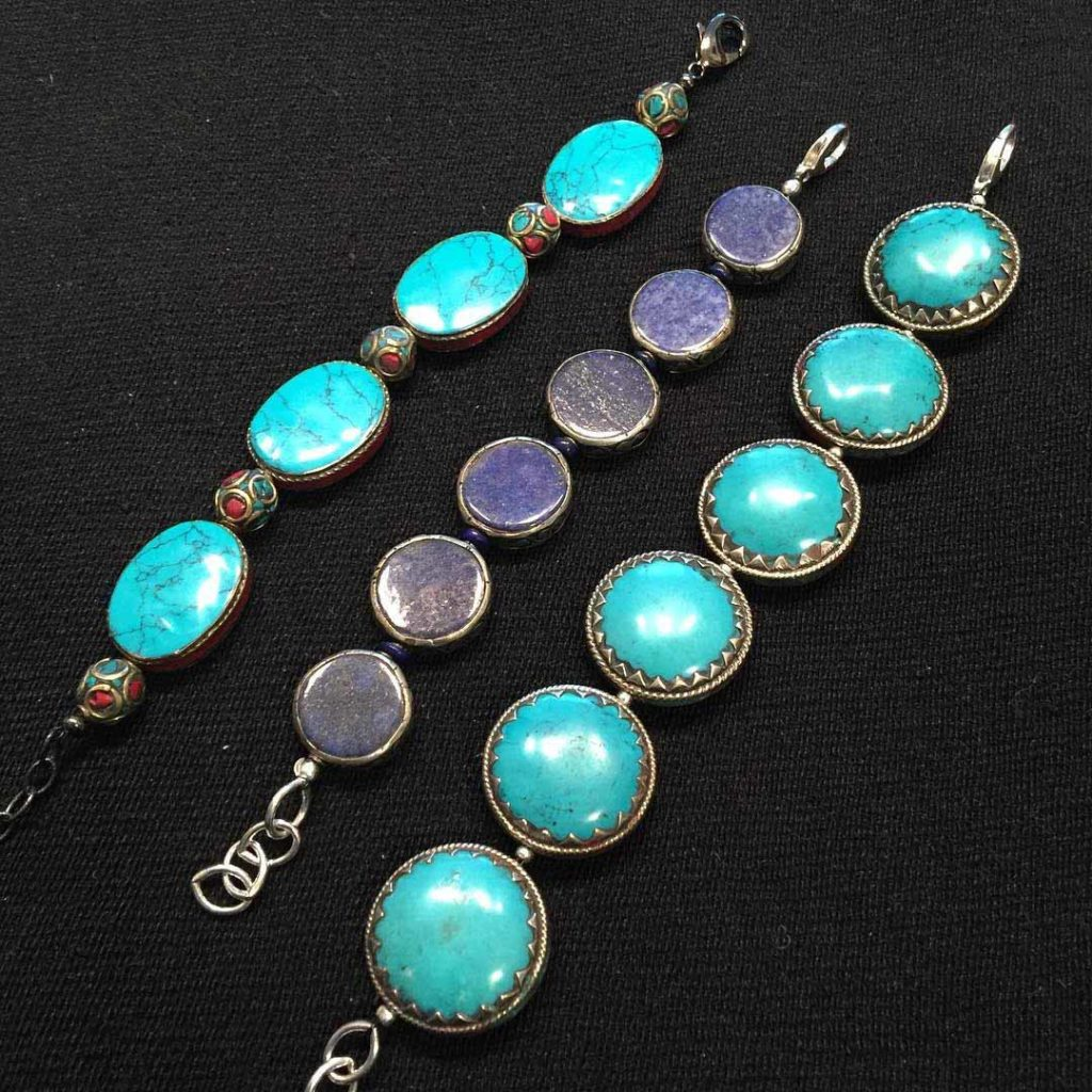 Turquoise and Lapis Bracelets EastTowne Jewelers